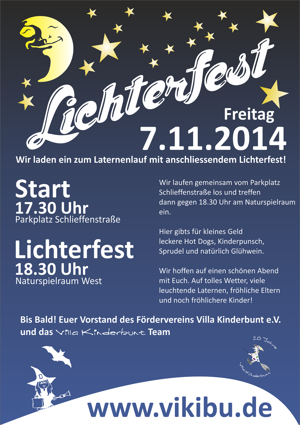 Lichterfest-2014 Flyer
